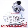 """Kinugawa rolamento de esferas turbocompressor boleto 4 """"gtx3076r trim84 ar.64 para subaru wrx sti"""