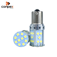 conpex 12V LED White light Auto Reverse Lamp Daytime Running Light CANBUS 1156 1157 3030 SMD 35smd Car Brake Tail Bulb