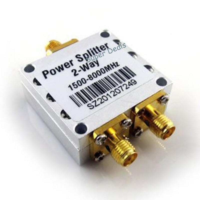 US $22 62 10% OFF|High quality 1500~8000Mhz 2 Way RF Power Splitter  Combiner w/ SMA Female Connector High Frequency 1 5 8Ghz Power Divider-in  Signal