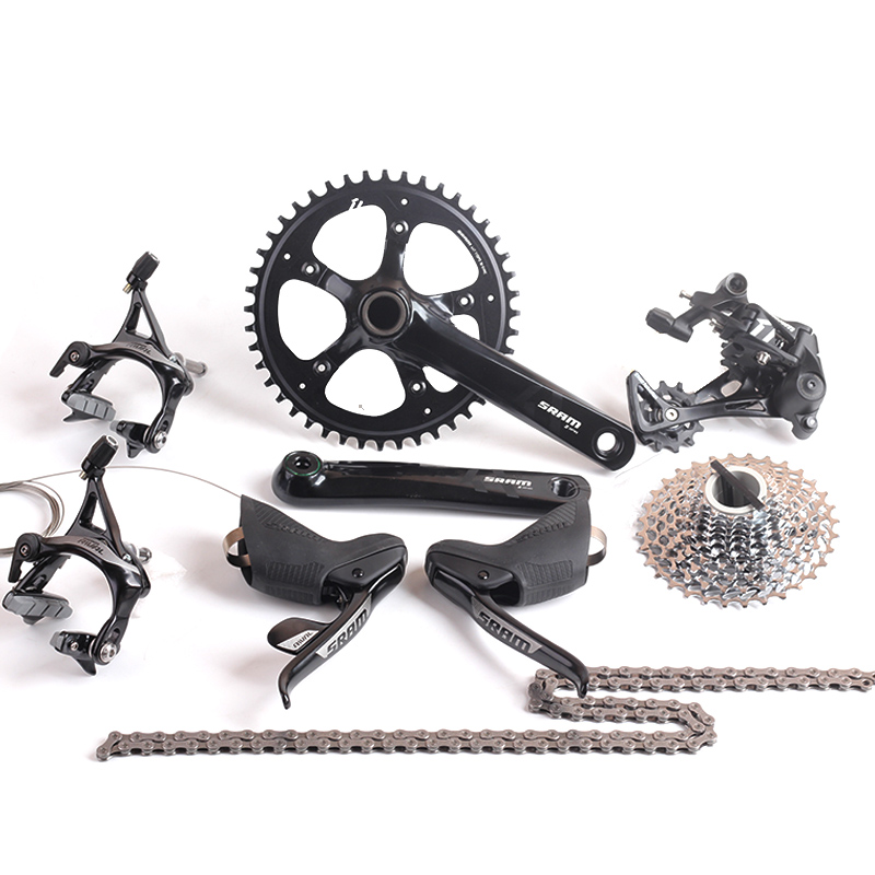 цена SRAM RIVAL 1 & APEX 1 11s 1x11s Road Bike Groupset 44T 170mm 11-32T RIVAL Brake Shifter Lever APEX 1 Rear Derailleur