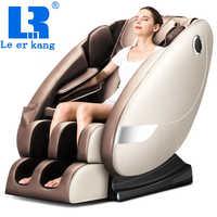 LEK L8 domu Zero gravity fotel do masażu całego ciała ogrzewanie elektryczne usiąść fotele do masażu inteligentny shiatsu sofa masująca