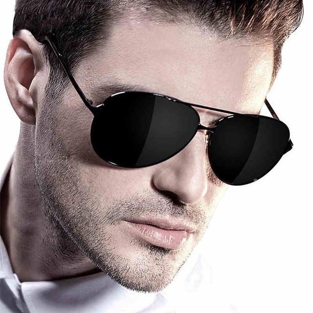 DOLCE VISION 2018 Kacamata Fashion Terpolarisasi Kacamata Pria Mengemudi  UV400 Shades Oculos de sol Poin Percontohan 7c34dfe535