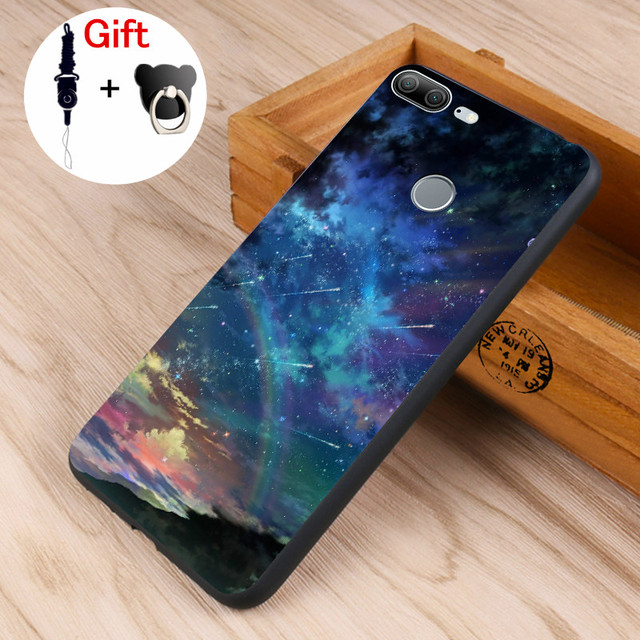 new styles 22723 2f27d US $4.78 20% OFF|Honor 9 Lite Case Honor 9,Honor 8 Black Frame Cartoon  Painted Soft TPU Phone Shell For Huawei Honor 8 Lite #0109-in Fitted Cases  from ...