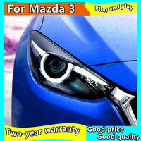 Car Styling Head Lamp for Mazda 3 Headlights 2017 2018 New Mazda3 Axela LED Headlight LED DRL Hid Bi Xenon Auto Accessories
