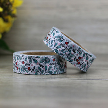 1PCs 1.5cm*10m Fresh Pattern Floral washi tape DIY decoration scrapbooking Planner masking tape adhesive kawaii stationery