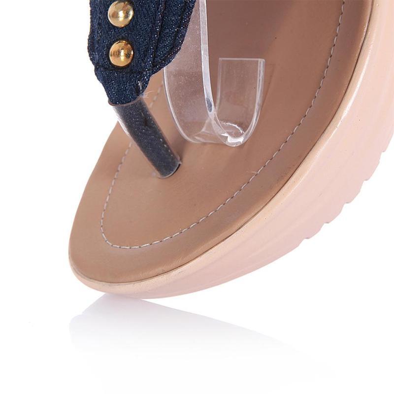 Wedges Shoes For Women High Heel Summer Ladies Gladiator Sandals Woman Platform Cowboy Zipper Sandalias Mujer 2018 hj98 22