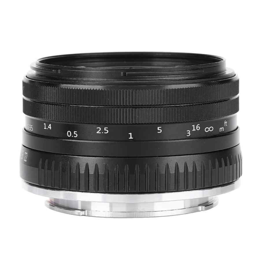 Mcoplus 32 мм F1.6-22 Ручная настройка апертуры Фокус объектив для Sony Nex3/3N/5 T/5R/6/7/A5000/A5100/A6000/A6100 для FUJIFILM Mirrorles Camere