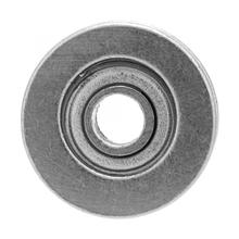 10pcs V623ZZ 3*12*4mm Single Rolling V Groove Guide Pulley Rail Steel Ball Bearings linear bearings Deep Groove Bearing цена