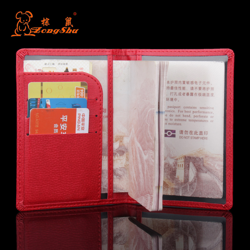 2018 Hot Men's Passport Cover For Traveling Documents, Women's Credit Card Holder For Visiting Cards And Travel Passport Holder