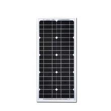 2016 Solar Cell Monocrystalline 20W Solar Panel Modules Plates Photovoltaic Panel Celulas Solares Painel Energia Solar solar panel 200w 24v celulas solares monocristalinas solar battery cell photovoltaic placas solares de 12 voltios solar for home