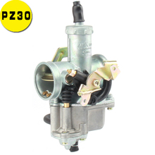 цена на 30mm PZ30 Carburetor Power Jet Accelerating Pump for 200cc 250cc Motocross Pit Dirt Bike ATV