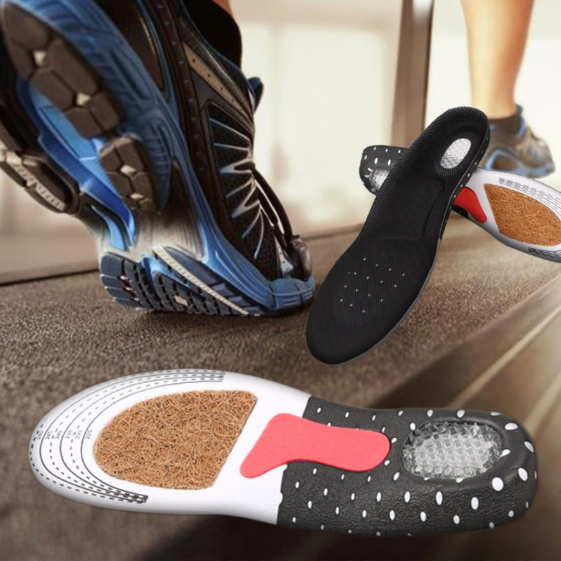 Men Women Sport Running Insoles Orthotic Insert Shoe Pad Arch Support Cushion Comfortable Comfortable Insole