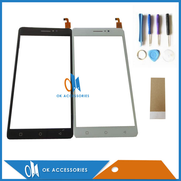 High Quality Black Gold White Color For X-BO x bo xbo O1 01 Touch Screen Digitizer With Tools & Tape 1PC/Lot