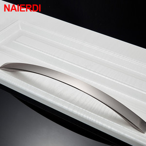 Image 5 - NAIERDI 10PCS Cabinet Handles Knobs Aluminum Alloy Door Kitchen Knobs Cabinet Pulls Drawer Furniture Handle Hardware