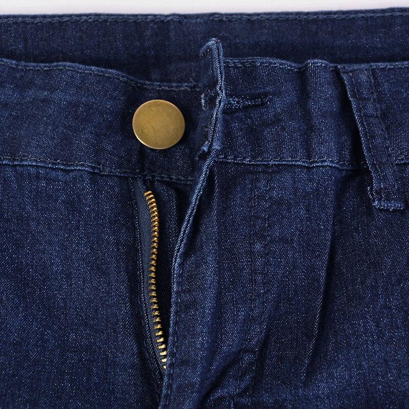 bd19928fef NIBESSER Skinny Jeans azul hombres otoño Denim Vintage lápiz ...