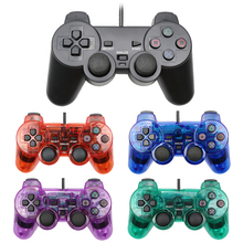 For PS2 Wired Controller Shock Remote For PS2 Game Console Controle For Sony PS2 Wired Joypad Gamepad for Kids Gift