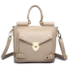 Versatile England Style PU Leather  ladies girl Small Style  Handbag Messenger Cross Body Shoulder Satchel Tote Bag