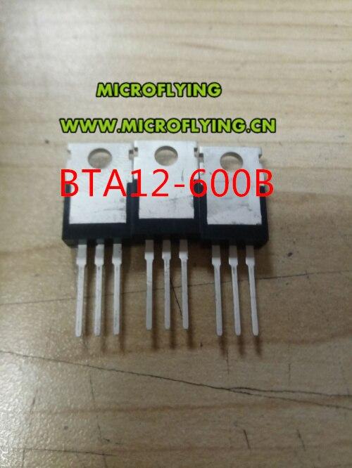 10pcs New BT136-600E BT136-600 BT136 Triacs Thyristor TO-220 JL