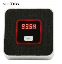 SmartYIBA Smart Combustible Gas Leak Detector Gas Leakage Sensor Independent Natural Gas Alarm Sensor For Fire Protection