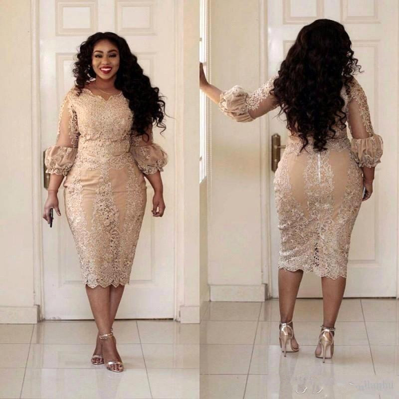 2019 New Designer Champagne Plus Size Mother of the Bride ...