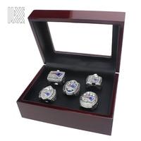 2017 Latest Official 4 Pcs Set New England Patriots Super Bowl Championship Ring Set 2001 2003