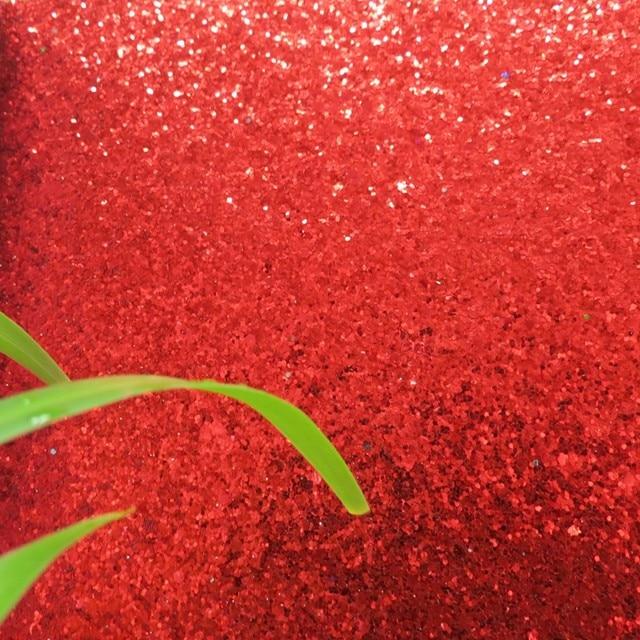 Online Shop 7m One Roll Grade 3 Chunky Red Glitter Wallpaper Light