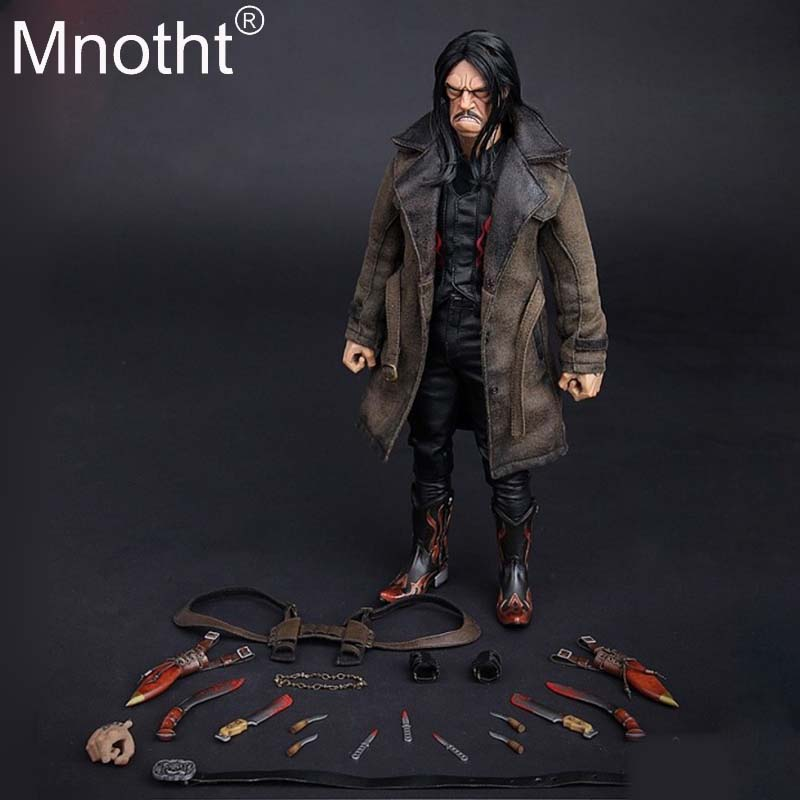 Mnotht Toys 1/6 <font><b>Gangsters</b></font> <font><b>Kingdom</b></font> Diamond 3 GK006 Danny Trejo Machete 12inch Collection Action Figure With Body Head Sculpt m3n image