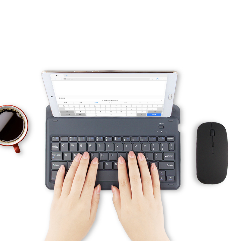 Bluetooth Keyboard For Samsung Galaxy Tab S3 S2 S4 8 9.7 10.1 S6 10.5 A S E 9.6 8.0 7.0 Tablet Wireless Bluetooth Keyboard Case