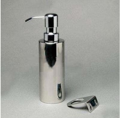 250ml Stainless steel soap dispenser empty lotion pump bottle hand sanitizer bottles emulsion container Equipped with lock walls stainless steel bullet shaped olive oil dispenser bottle silver 230ml