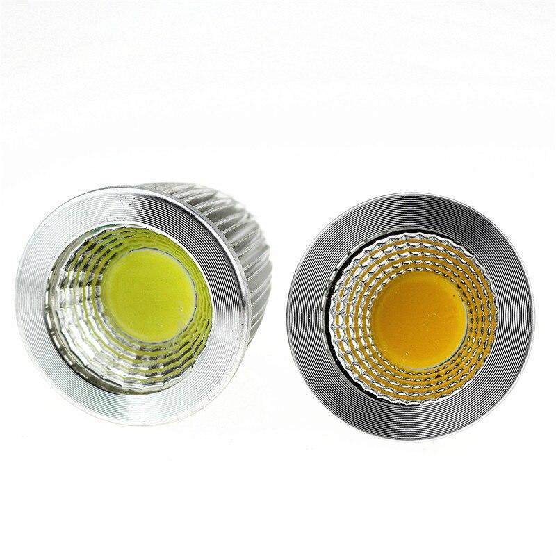 50X Супер Яркий Светодиодный точечный светильник MR16 12 V Коб 9 Вт, 12 Вт, 15 Вт, Светодиодный лампа warmcool белый светодиодный светильник - 5