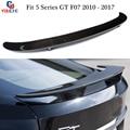 5 Серия GT F07 задний спойлер из углеродного волокна крыло багажника для BMW 5 GT 535i 550i 2010-2017 5-дверный fastback