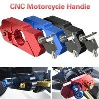 Motorcycle Parts Horn Lock CNC Modification Accessories Handle Brake Horn Lock Anti theft Lock Modified Handlebar Lock