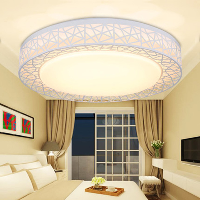 Modern LED Iron Ceiling Lights Contemporary metal flowers frame surface mounted lamp curved Acrylic foyer bedroom Ceiling Light