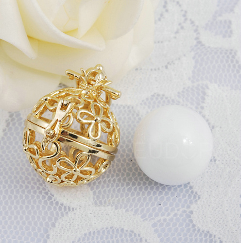 Harmony Bola Pendant Wishing Ball White Angel Caller Wholesale Online Shop Pendants Necklaces Maternity Gift