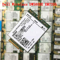 Dell Wireless DW5808E 4G LTE EM7355 Qualcomm WWAN NGFF Karte 3G Modul dw 5808E