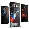 S7 край Case для Samsung Galaxy S7 edge Чехлы 3D Мультфильм капитан Паук Супер Человек Лев Тигр Назад Симпатичные Мягкие ТПУ Силиконовый крышка