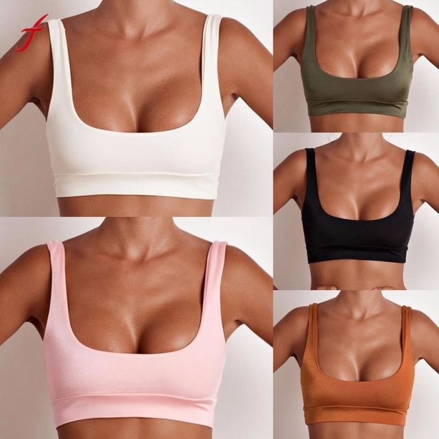 Sport Top Women's Summer Tank Tops Sleeveless T-Shirt Sports Vest Crop Top Blusa Mujer