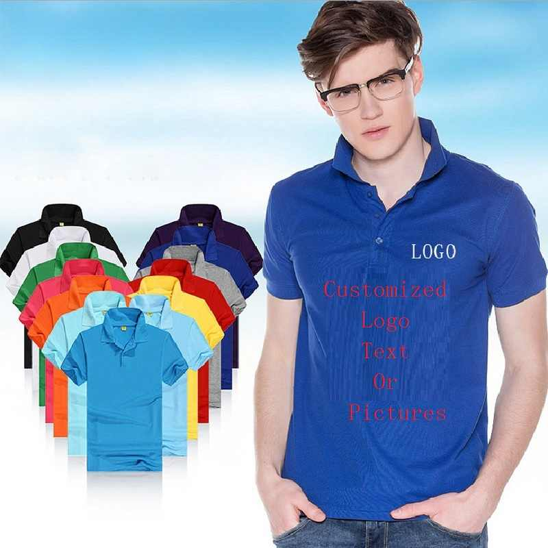 65f77aed8c29 Customized Men Shirts Man Jersey Logo Print Teenagers Tees Shirts  Personalized Tops Outfit T-Shirts