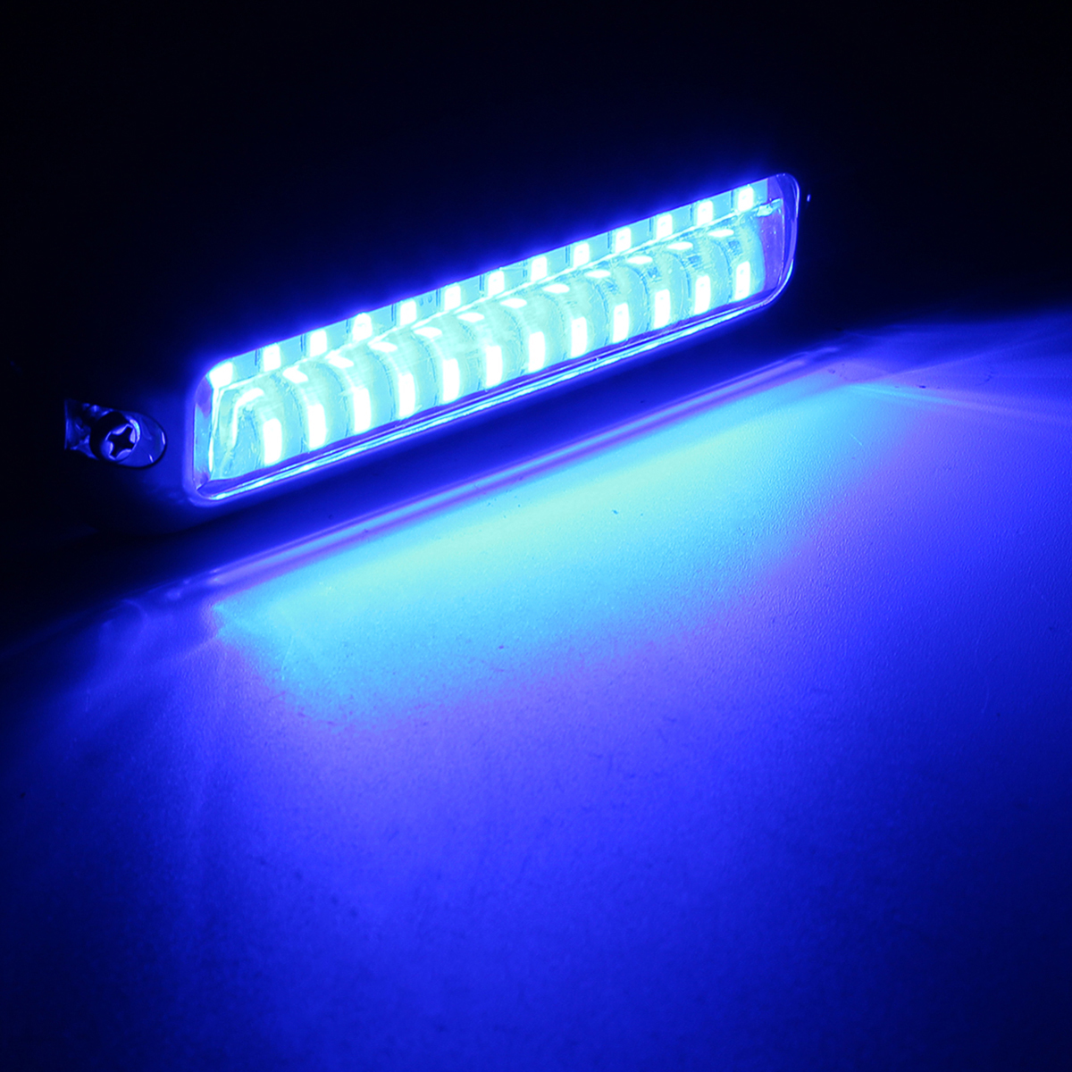 1pc Universal 39 Led Underwater Pontoon Boat Transom Fishing Lights Lamp Bulb Boat Transom Light Cover Waterproof High Intensity Boat Parts & Accessories Atv,rv,boat & Other Vehicle