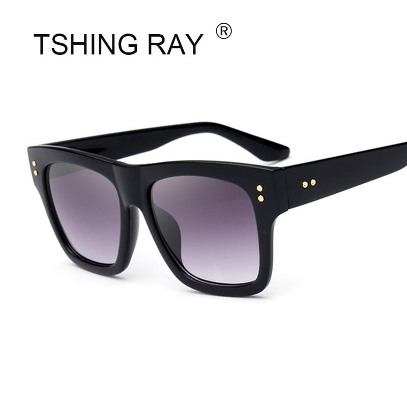 9c86315125 TSHING RAY John Wall Fashion Square Sunglasses Men Women Luxury Brand  Designer Celebrity Mirror Sun Glasses For Female UV400