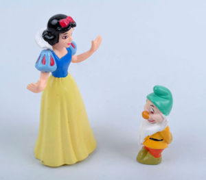 Image 5 - Hot Snow White and the Seven Dwarfs Figures / Cake Topper/ Kids Gift 8pcs