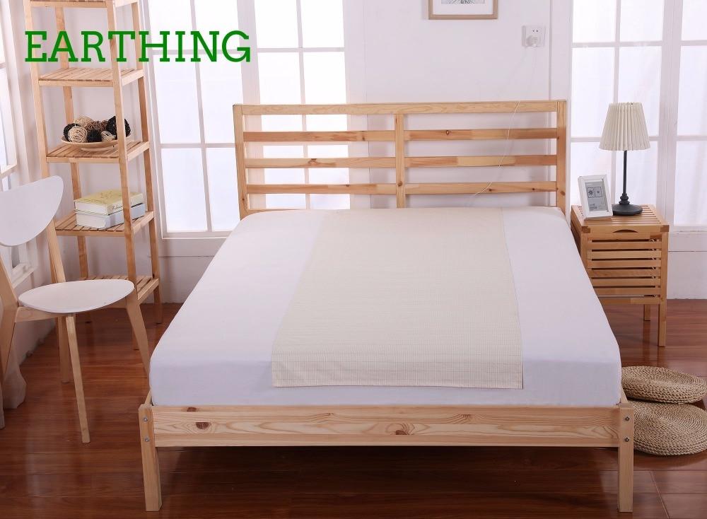 Заземление половину листа (60 х 250см) кровать подкладки здравоохранения Анти-свободных радикалов новогодний подарок