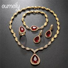 OUMEILY Wedding Bridal Jewelry Sets For