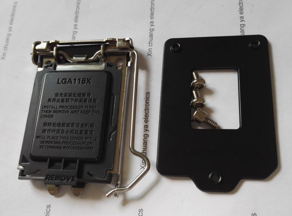 CPU LGA115X Socket stents support for LGA1150 1151 1155 1156 socket lga 775 motherboard backplate iron bracket cpu