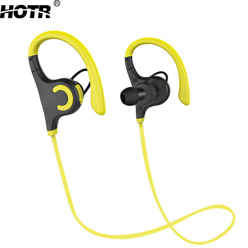 HOTR Magic Bluetooth Earphone And Headphones Stereo Sound Earpiece With Mic V4 0 Flexible Neckband Earbuds