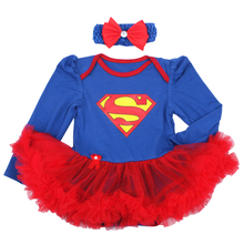 Cotton 2019 Baby Clothes Baby Rompers Baby Newborn Girl Clothes Newborn Jumpsuit Romper Superman Girls Baby Sets 3 6 9 12 18 24M