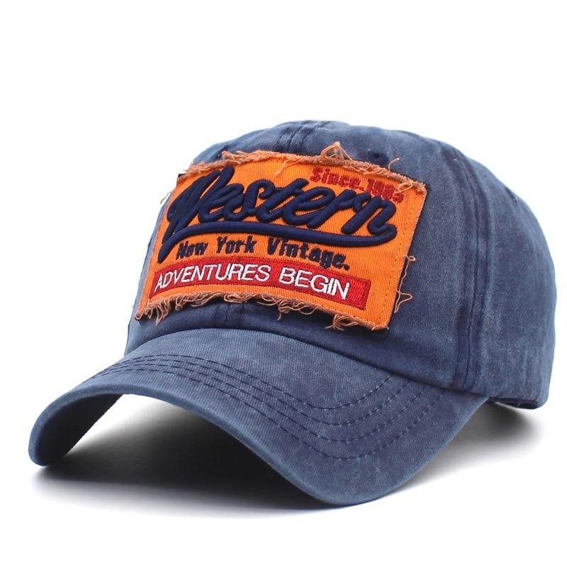 Vintage Cap Usa Women Baseball Men Gorra Hombre Snapback Cotton Letter Hip Hop Hat Caps Unisex WH097