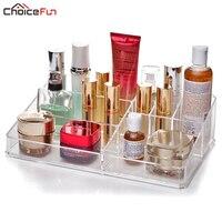 CHOICEFUN Clear Plastic Home Organization And Storage Makeup Organize Organizador Escritorio Acrilico Organizador De Maquiagem