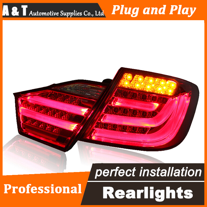 Car Styling LED Tail Lamp for Toyota Camry Taillights 2012-2014 Camry Rear Light DRL+Turn Signal+Brake+Reverse auto Accessories