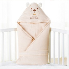 Newborn Baby swaddle Infant soft warm parisarc cotton Toddler thin blanket Comfortable baby wrap envelop sleeping sack Z06